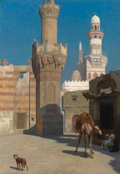 يوم حار في القاهرة